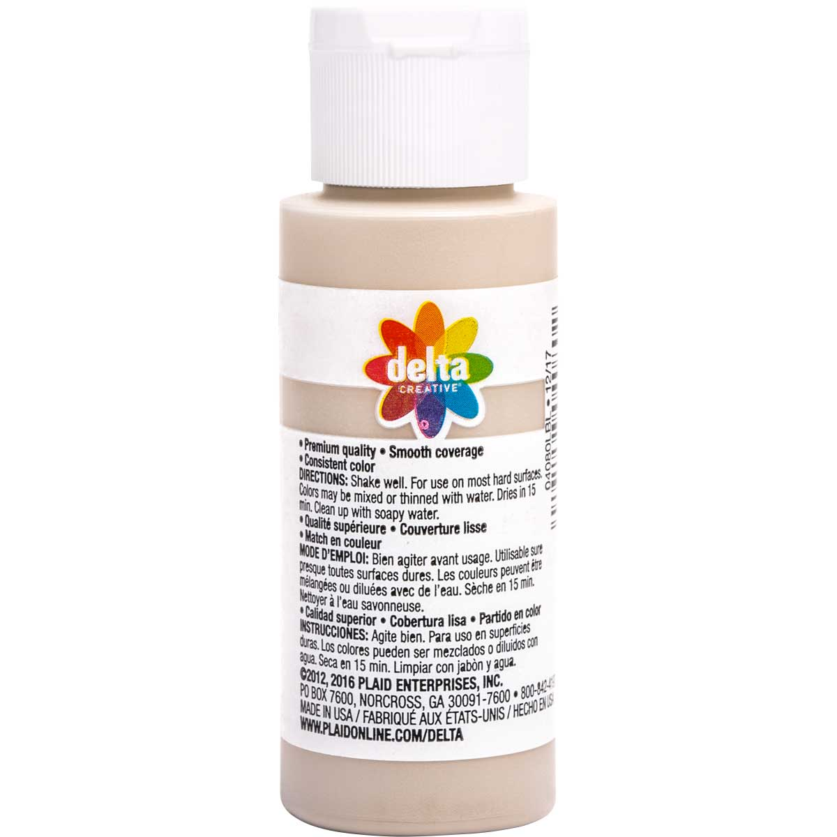 Delta Ceramcoat ® Acrylic Paint - Sand Dune, 2 oz.
