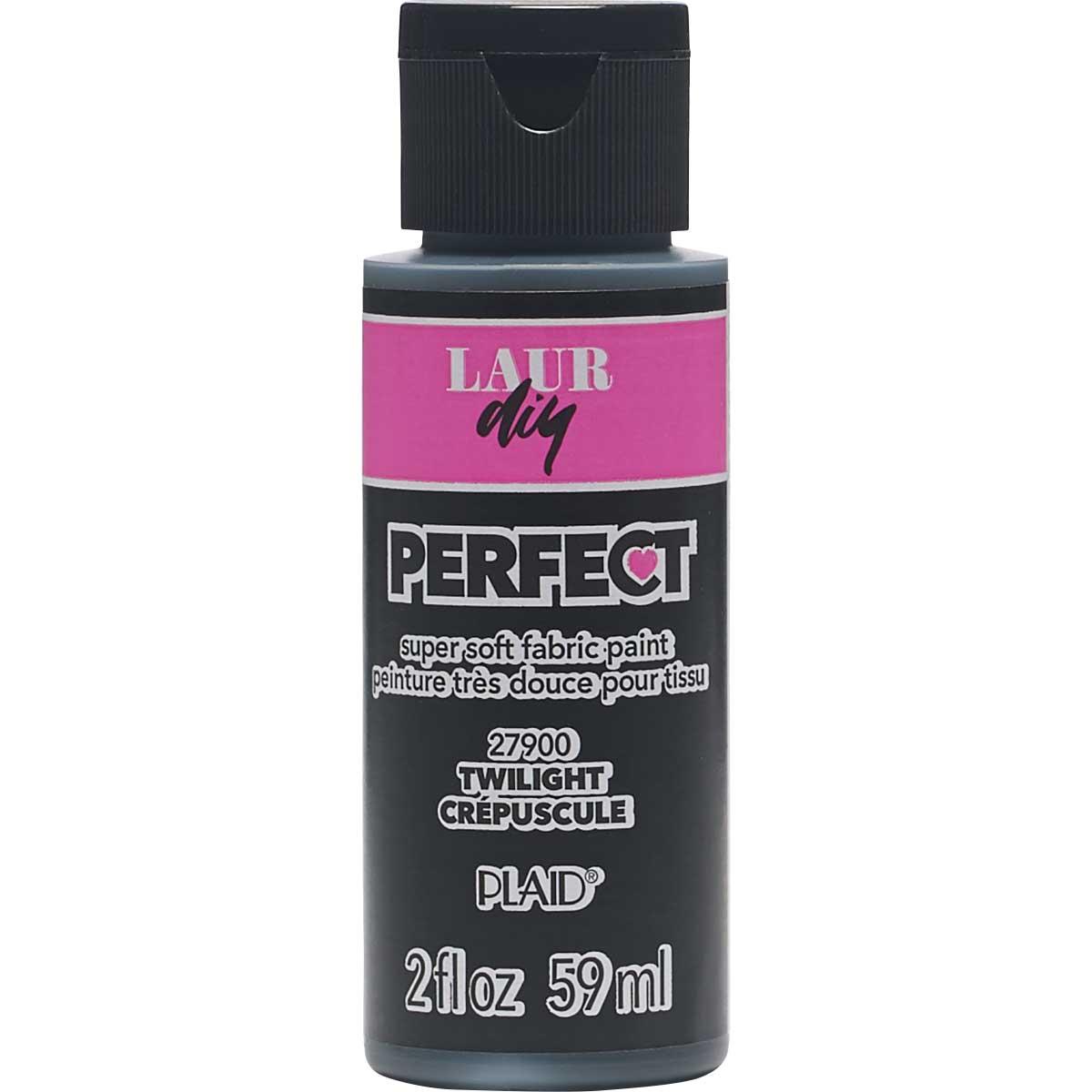 LaurDIY ® Perfect Fabric Paint - Twilight, 2 oz.