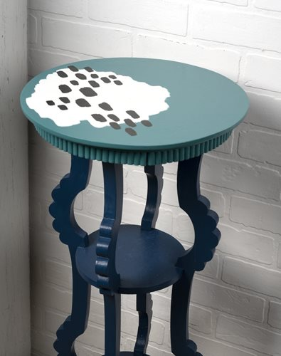 FolkArt One Decor Gloss Small Side Table