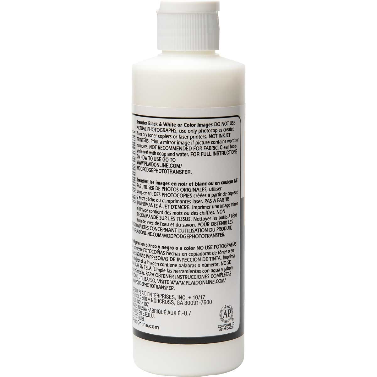 Mod Podge ® Image Transfer Medium Clear, 8 oz. - CS11216
