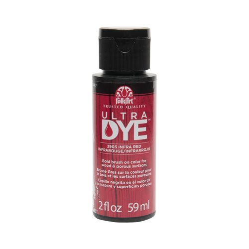 FolkArt ® Ultra Dye™ Colors - Infra Red, 2 oz.