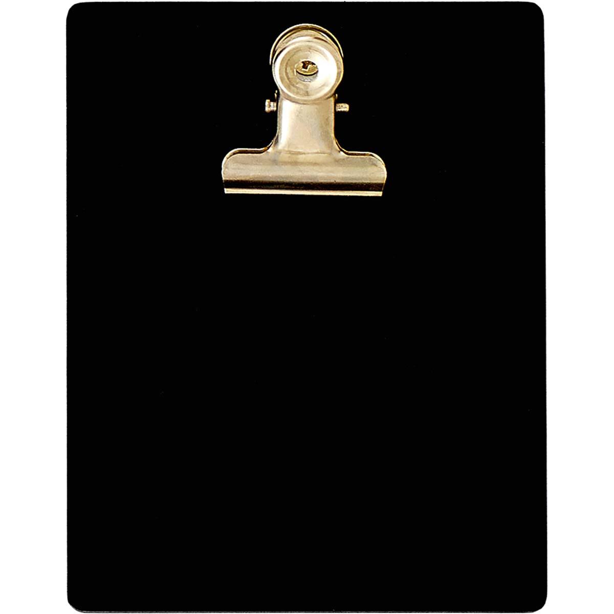 Plaid ® Surfaces - Mini Clipboard Frame - Black - 44948
