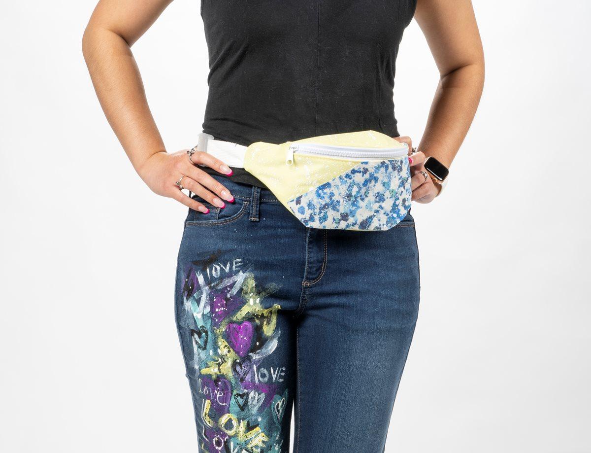 Modern Fabric Fanny Pack