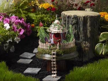 Fairy Garden Project - Fairy House Pedestal