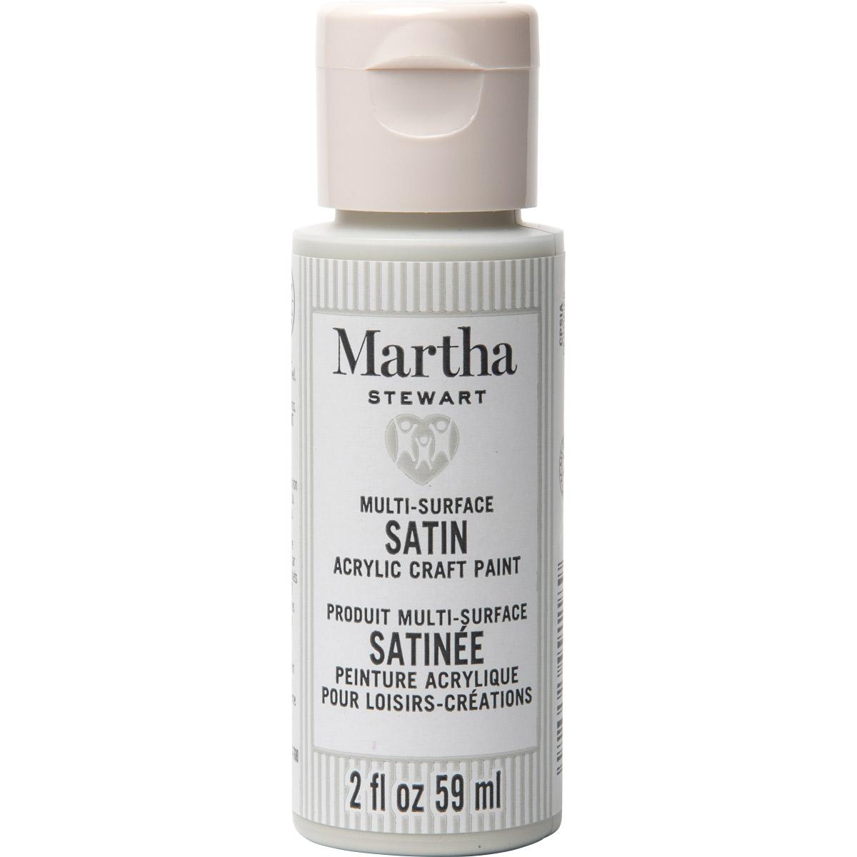 Martha Stewart ® Multi-Surface Satin Acrylic Craft Paint CPSIA - Downy, 2 oz.