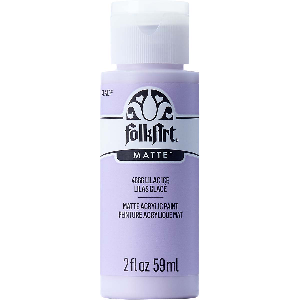 FolkArt ® Acrylic Colors - Lilac Ice, 2 oz. - 4666