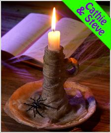 Mummified Candleholder