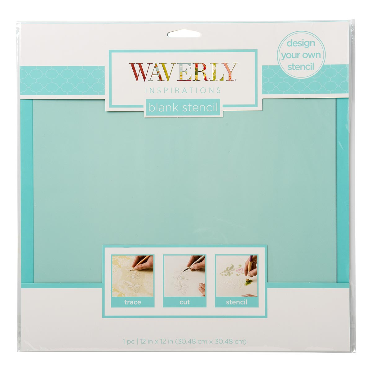 Waverly ® Inspirations Laser Stencils - Blank, 12