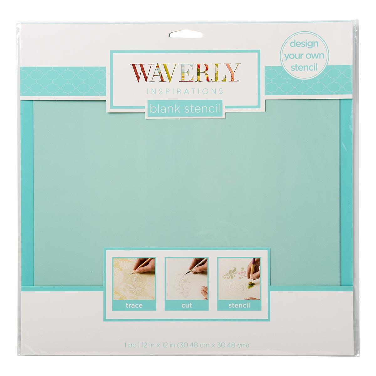 Waverly ® Inspirations Laser Stencils - Blank, 12
