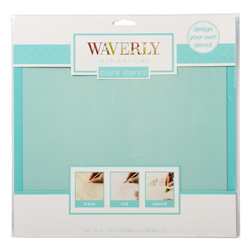 "Waverly ® Inspirations Laser Stencils - Blank, 12"" x 12"""