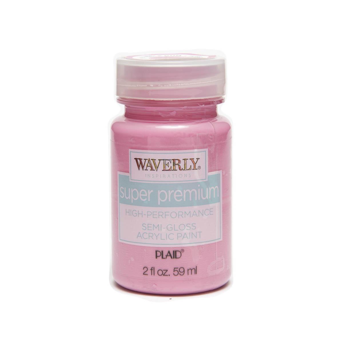 Waverly ® Inspirations Super Premium Semi-Gloss Acrylic Paint - Bubble Gum, 2 oz.