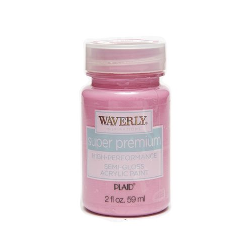 Waverly ® Inspirations Super Premium Semi-Gloss Acrylic Paint - Bubble Gum, 2 oz.