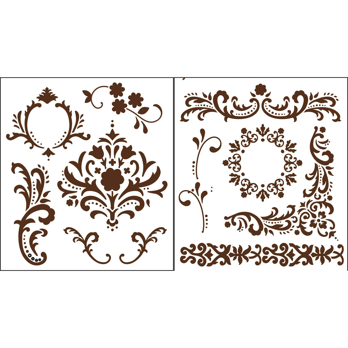 Martha Stewart Crafts ® Flourish Laser-Cut Stencils