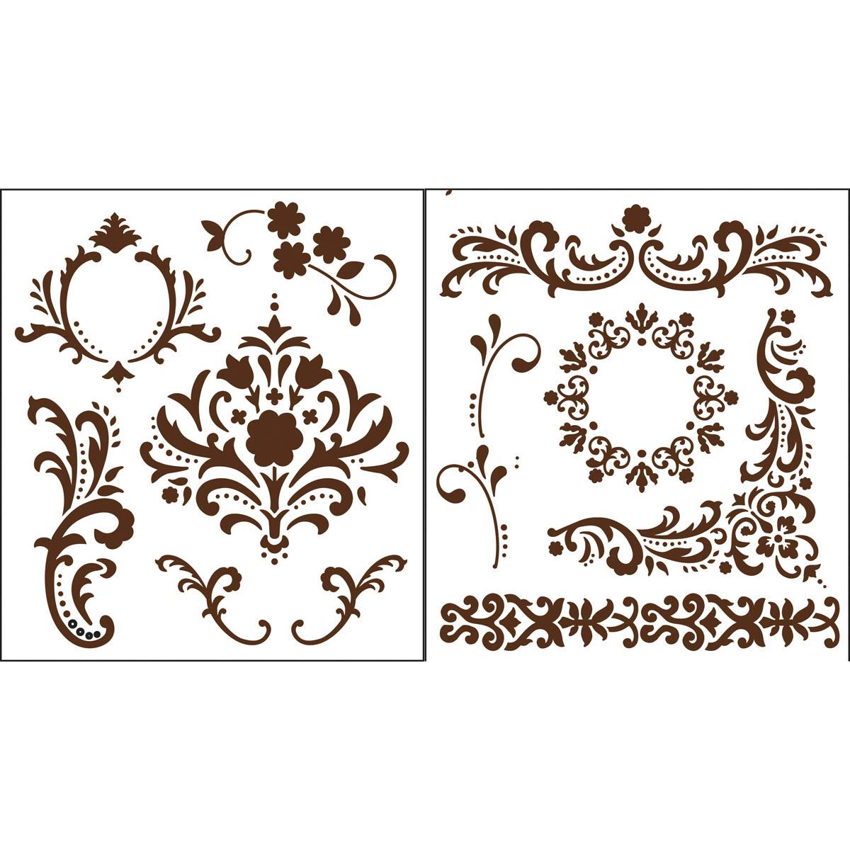 Martha Stewart Crafts ® Flourish Laser-Cut Stencils