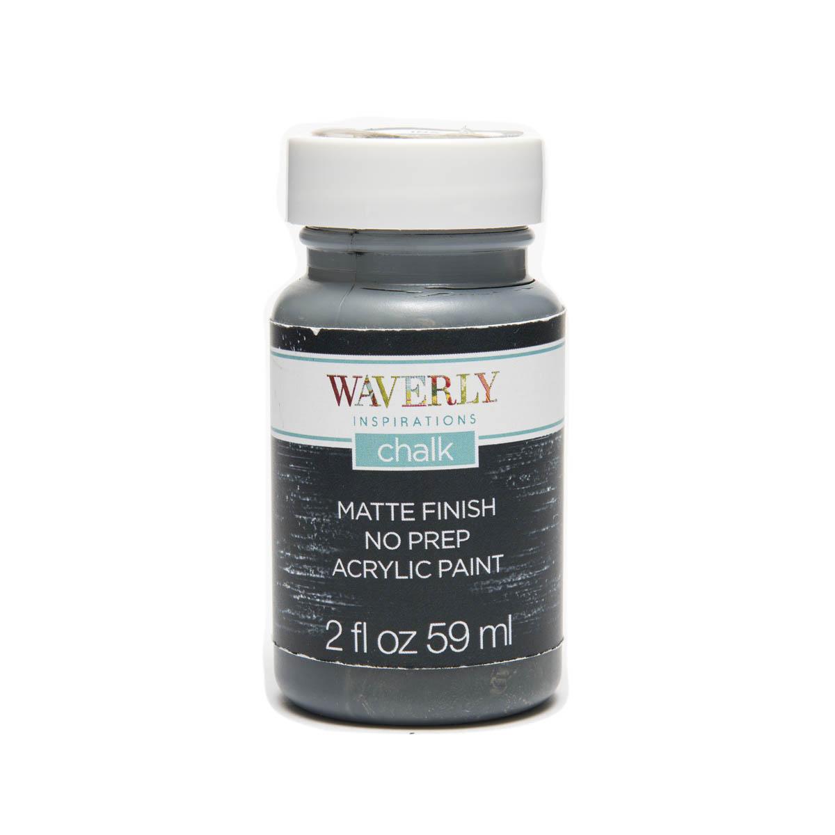 Waverly ® Inspirations Chalk Finish Acrylic Paint - Ink, 2 oz.