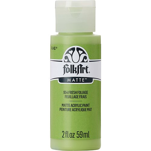 FolkArt ® Acrylic Colors - Fresh Foliage, 2 oz.