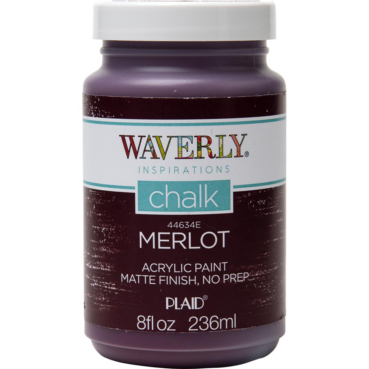 Waverly ® Inspirations Chalk Finish Acrylic Paint - Merlot, 8 oz.