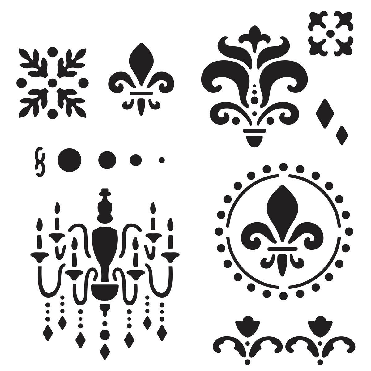 Plaid ® Craft Stencils - Value Packs - Home Décor