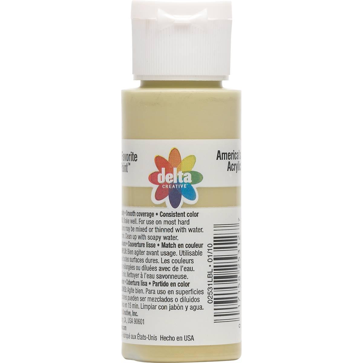 Delta Ceramcoat ® Acrylic Paint - Light Timberline Green, 2 oz. - 025310202W