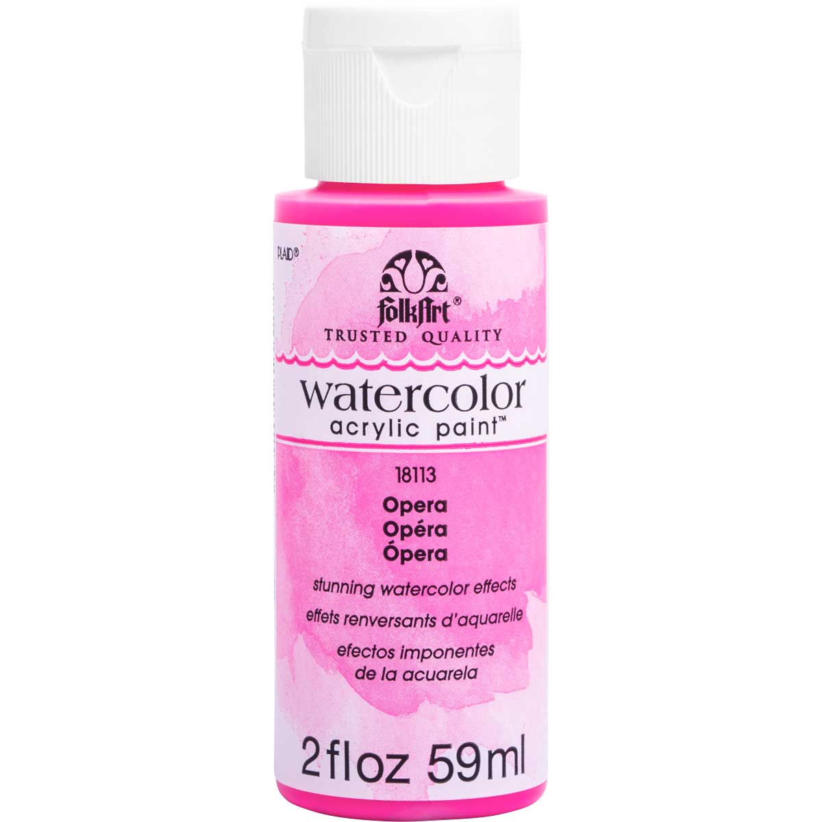 FolkArt ® Watercolor Acrylic Paint™ - Opera, 2 oz.