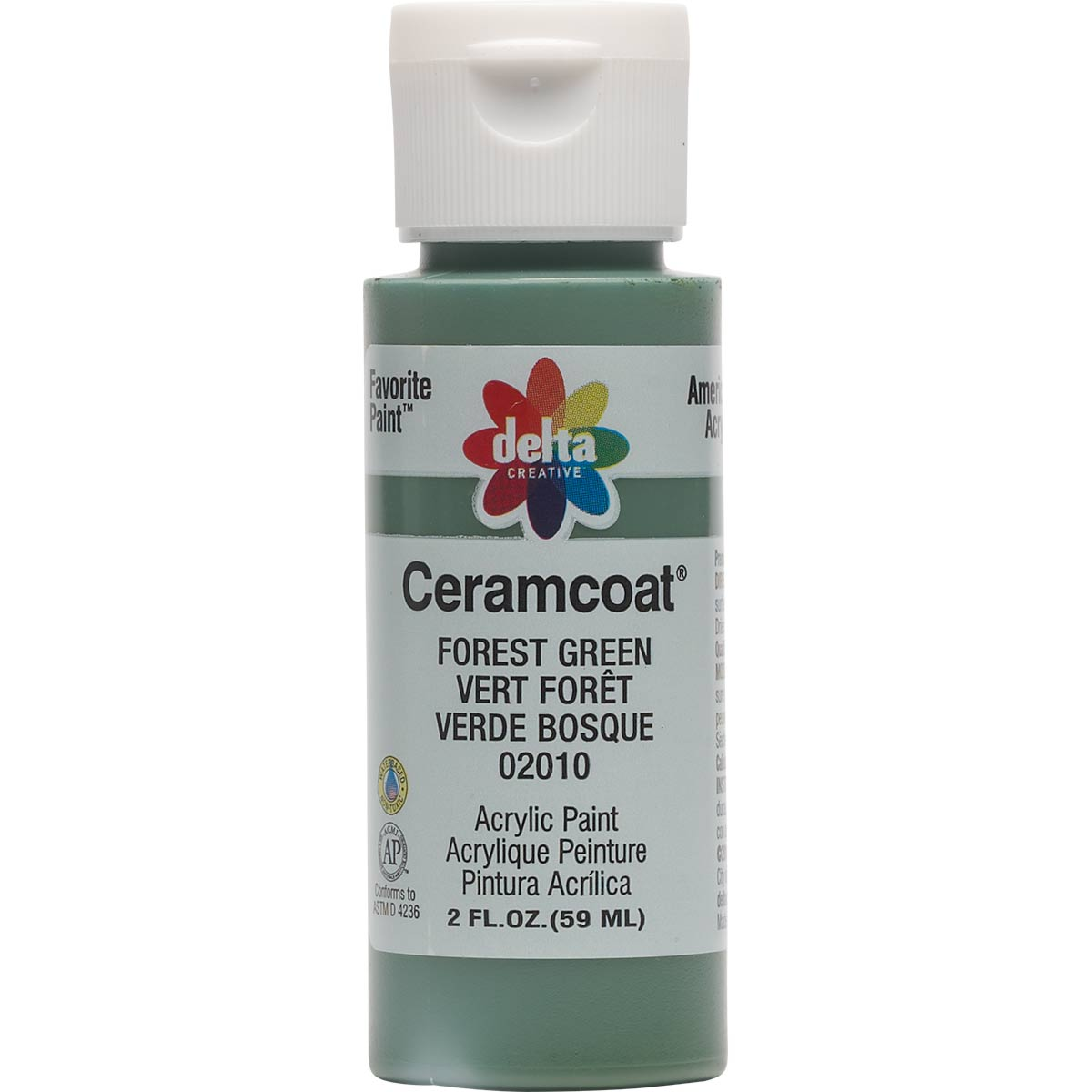 Delta Ceramcoat ® Acrylic Paint - Forest Green, 2 oz.