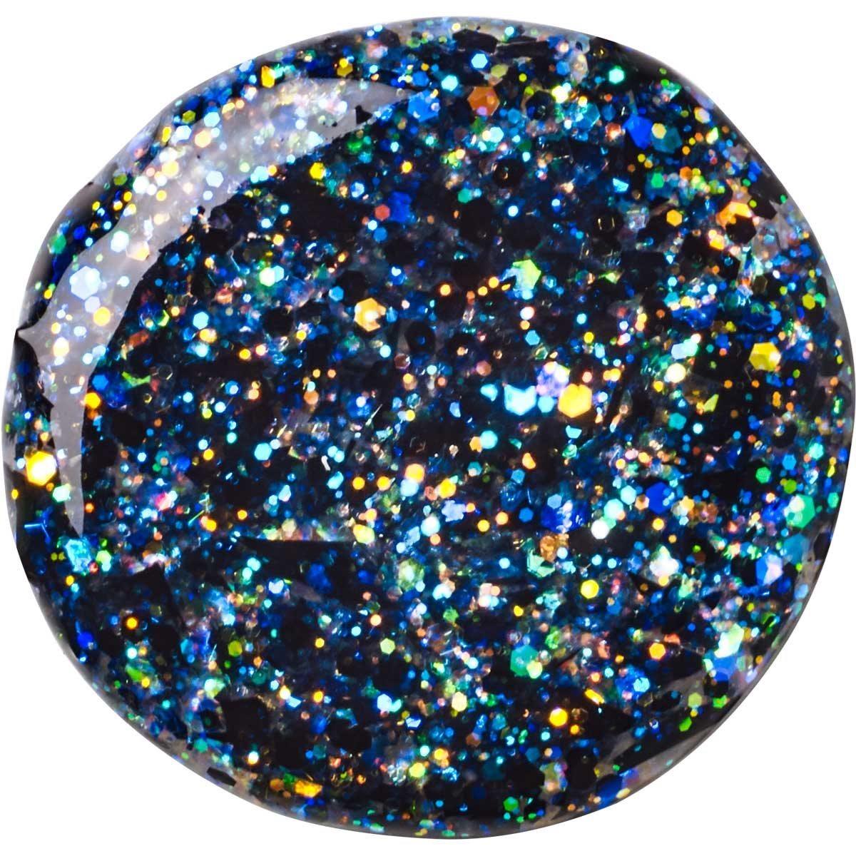 FolkArt ® Glitterific™ Acrylic Paint - Black Opal, 2 oz.