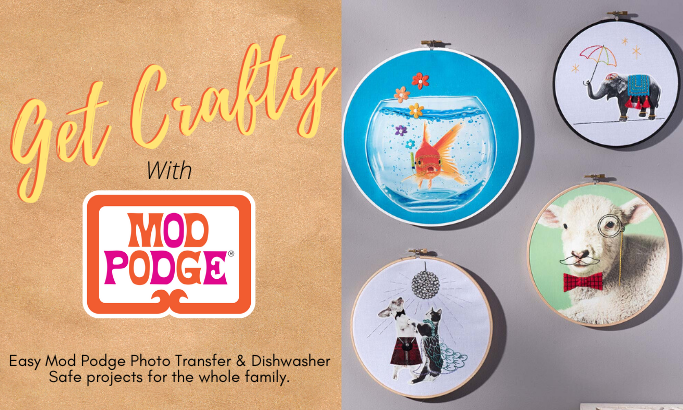 Get Crafty with Mod Podge - Part 3