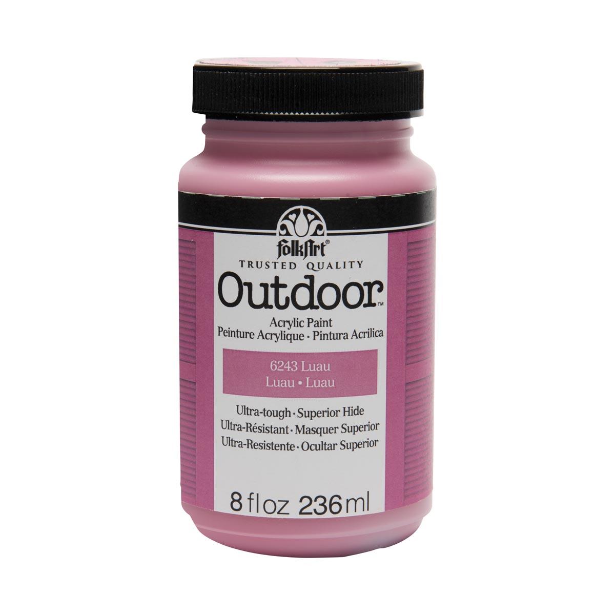 FolkArt ® Outdoor™ Acrylic Colors - Luau, 8 oz.