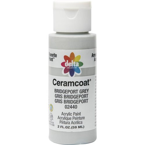 Delta Ceramcoat ® Acrylic Paint - Bridgeport Grey, 2 oz. - 024400202W