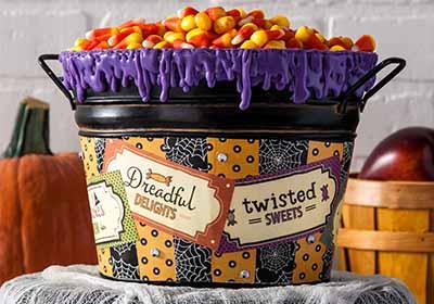Creepy Candy Bucket