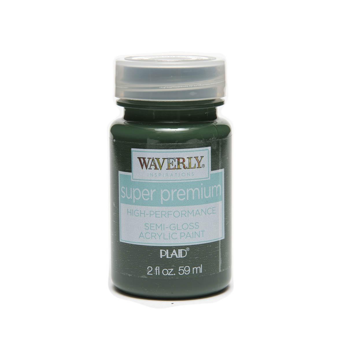 Waverly ® Inspirations Super Premium Semi-Gloss Acrylic Paint - Evergreen, 2 oz.