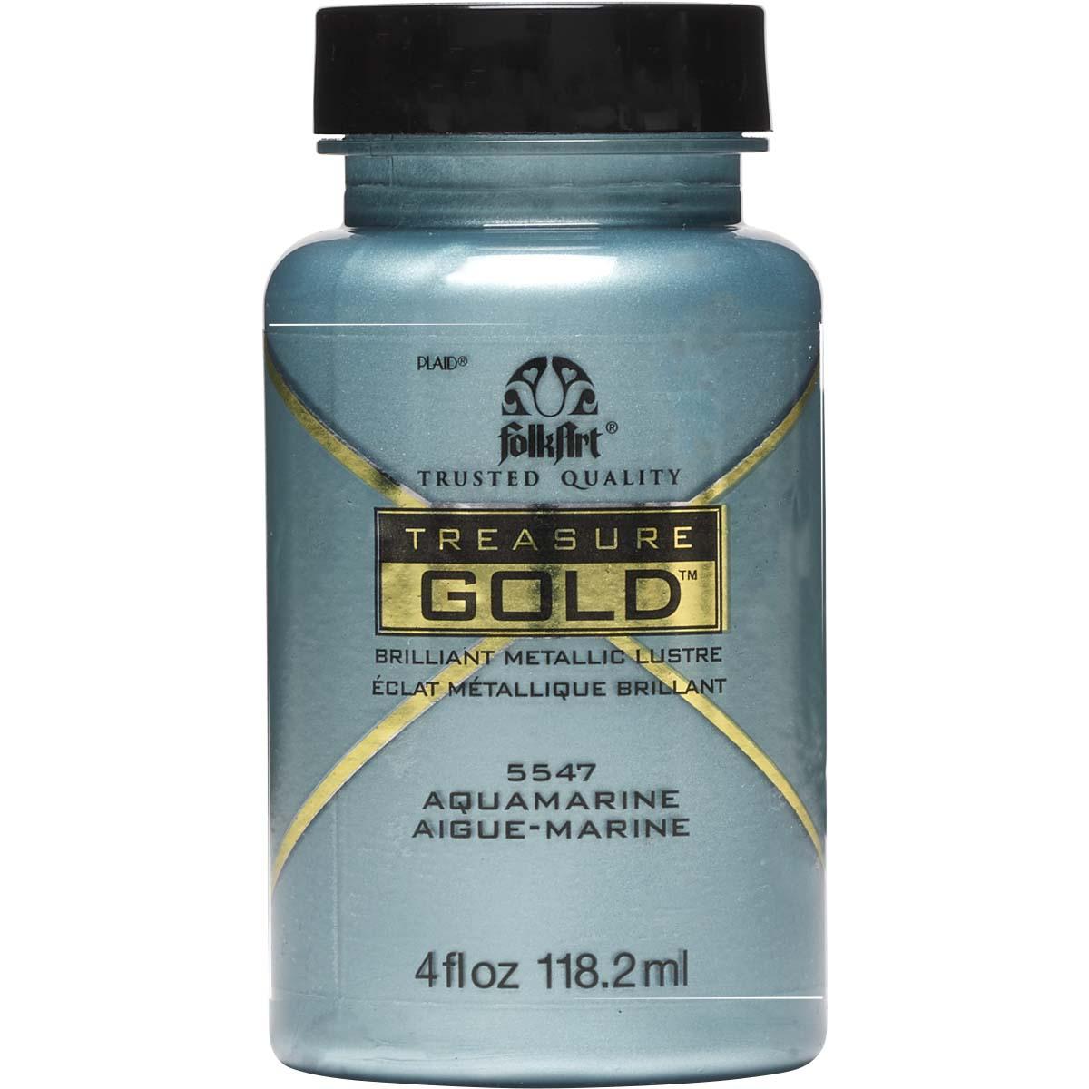 FolkArt ® Treasure Gold™ - Aquamarine, 4 oz. - 5547