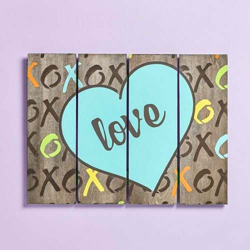 XOXO Love Pallet Sign