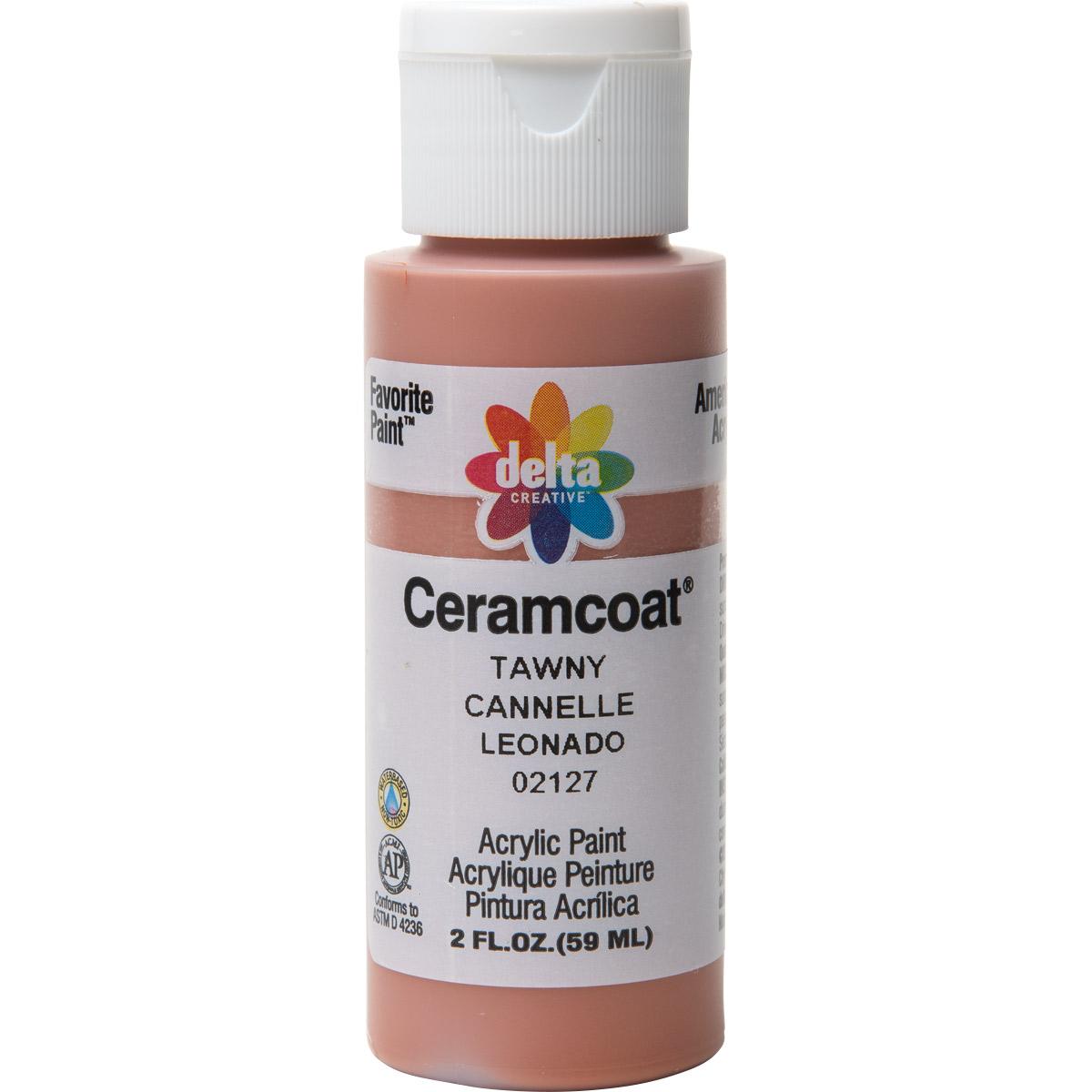 Delta Ceramcoat ® Acrylic Paint - Tawny, 2 oz.