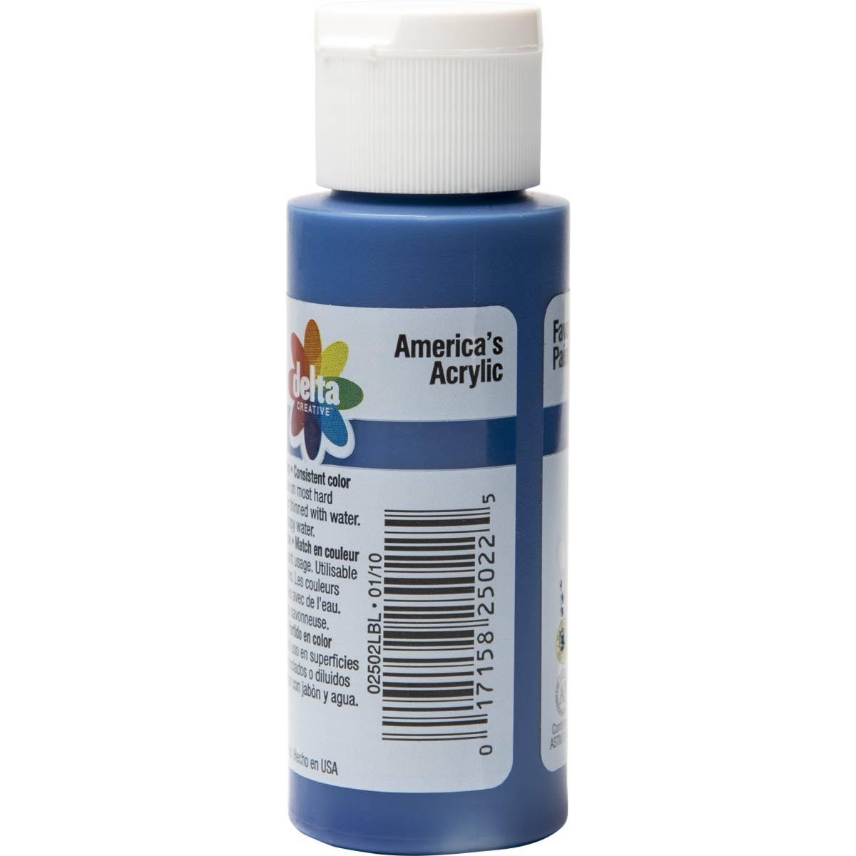 Delta Ceramcoat ® Acrylic Paint - Phthalo Blue, 2 oz. - 025020202W
