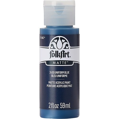 FolkArt ® Acrylic Colors - Uniform Blue, 2 oz.