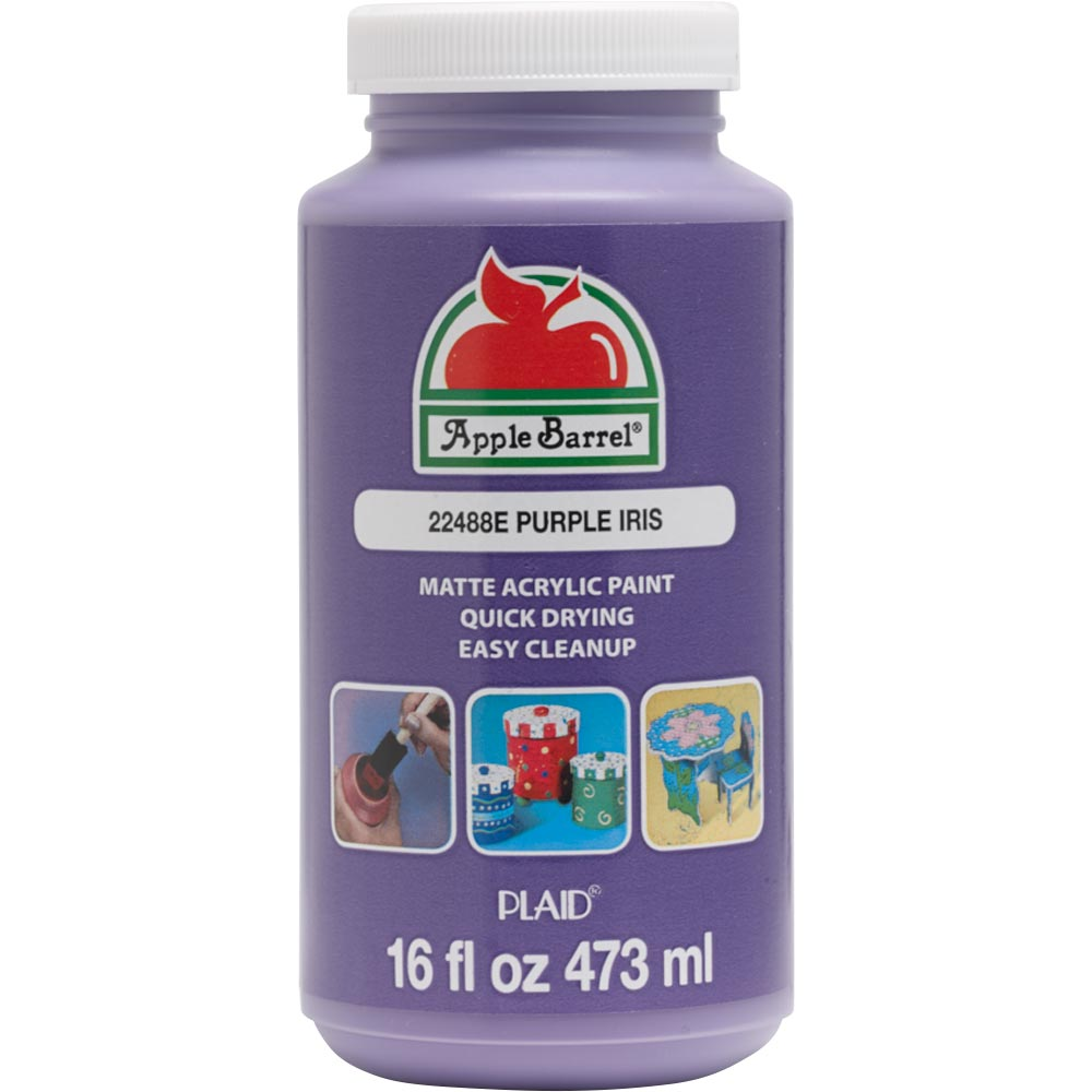 Apple Barrel ® Colors - Purple Iris, 16 oz.