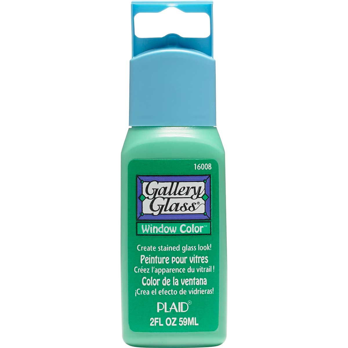 Gallery Glass ® Window Color™ - Kelly Green, 2 oz.