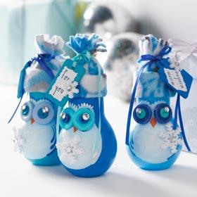 Handpainted Owl Gift Jars