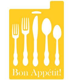 Delta Stencil Mania™ - Bon Appetit!, 7