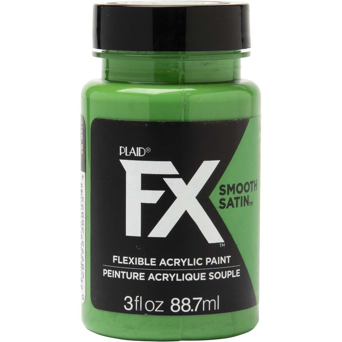 PlaidFX Smooth Satin Flexible Acrylic Paint - Smashing, 3 oz. - 36855