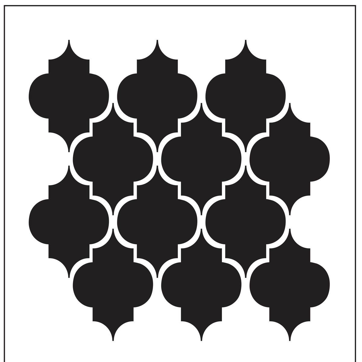 FolkArt ® Home Decor™ Wall Stencils - Trellis