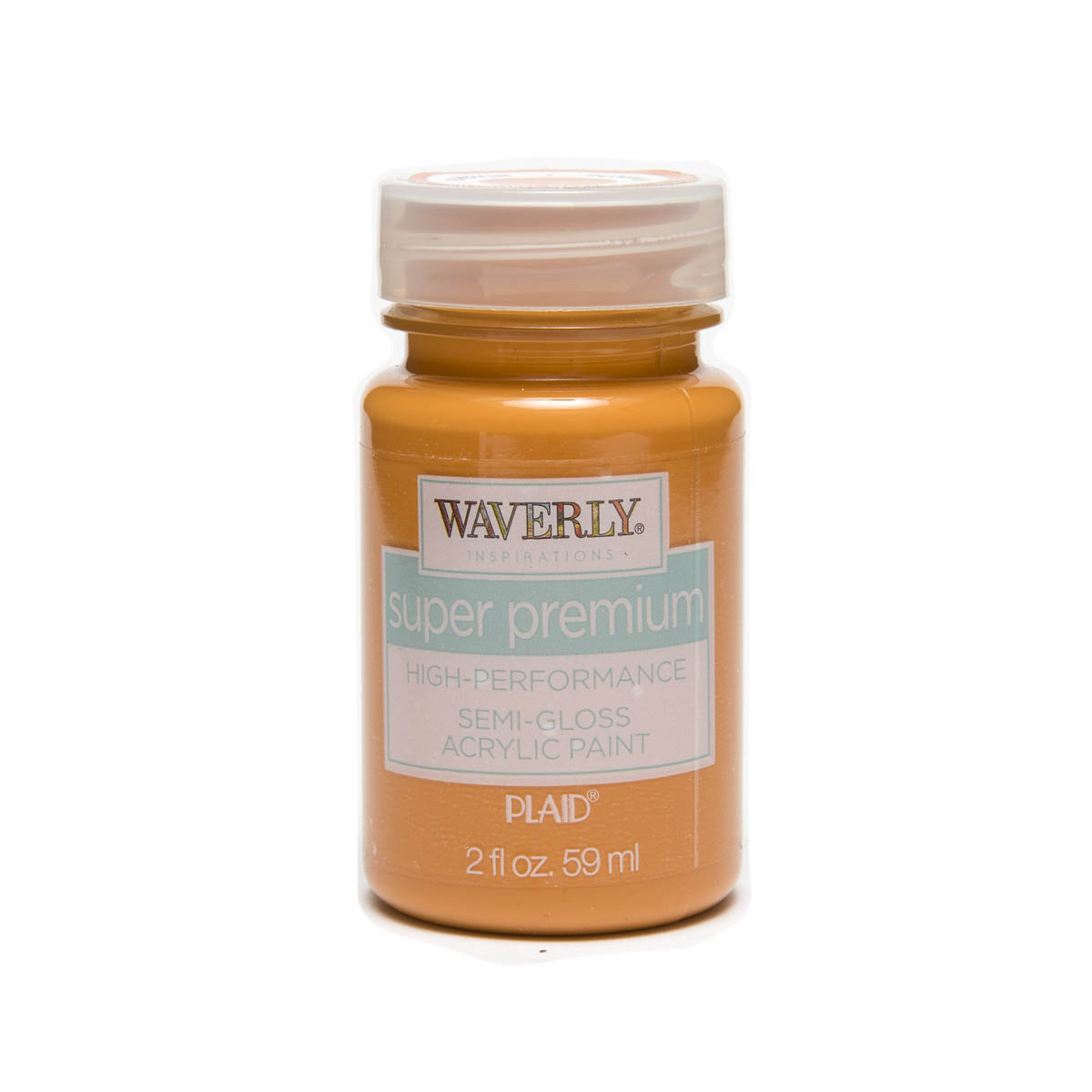 Waverly ® Inspirations Super Premium Semi-Gloss Acrylic Paint - Pumpkin, 2 oz.