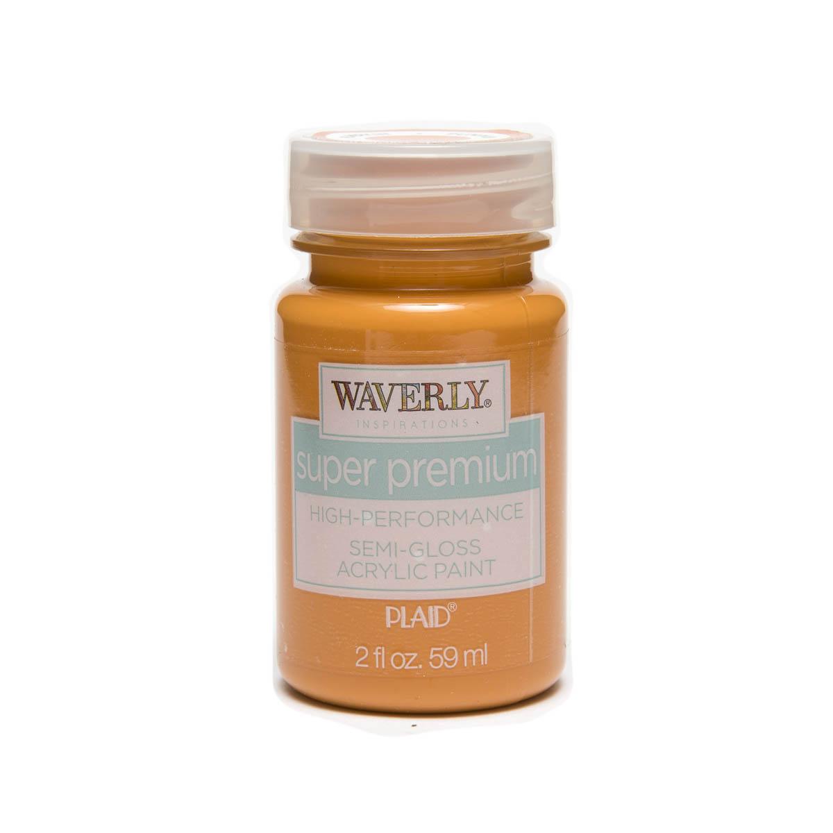 Waverly ® Inspirations Super Premium Semi-Gloss Acrylic Paint - Pumpkin, 2 oz.