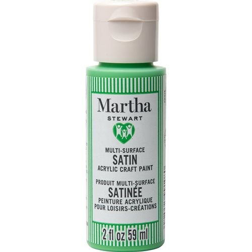 Martha Stewart ® Multi-Surface Satin Acrylic Craft Paint CPSIA - Verdant Hills, 2 oz. - 99108