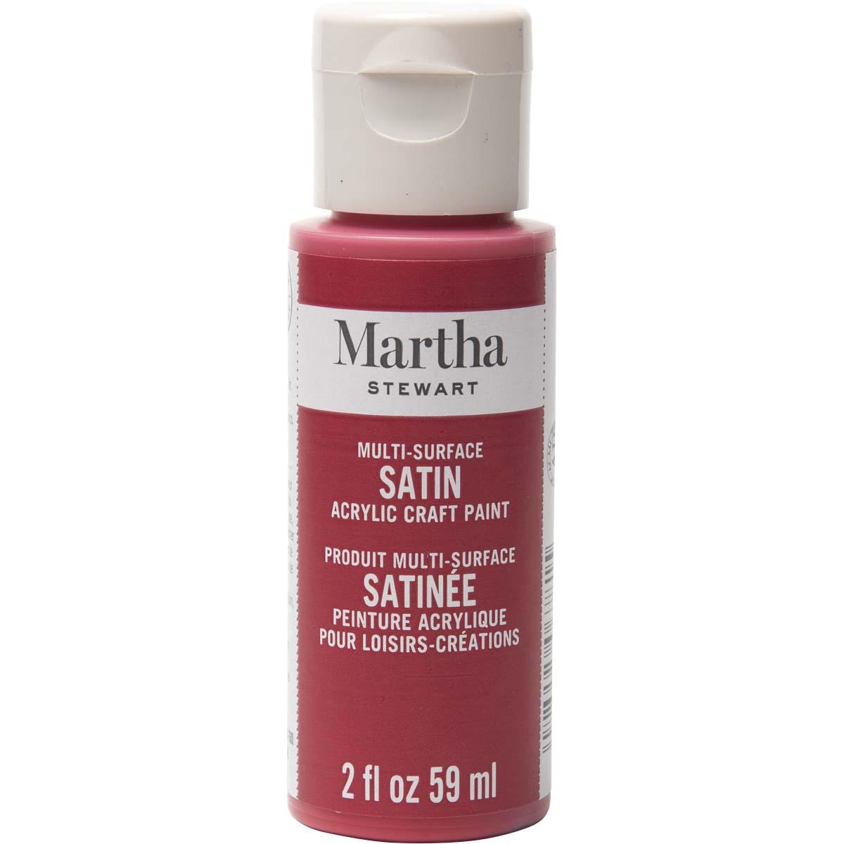 Martha Stewart® 2oz Multi-Surface Satin Acrylic Craft Paint - Habanero