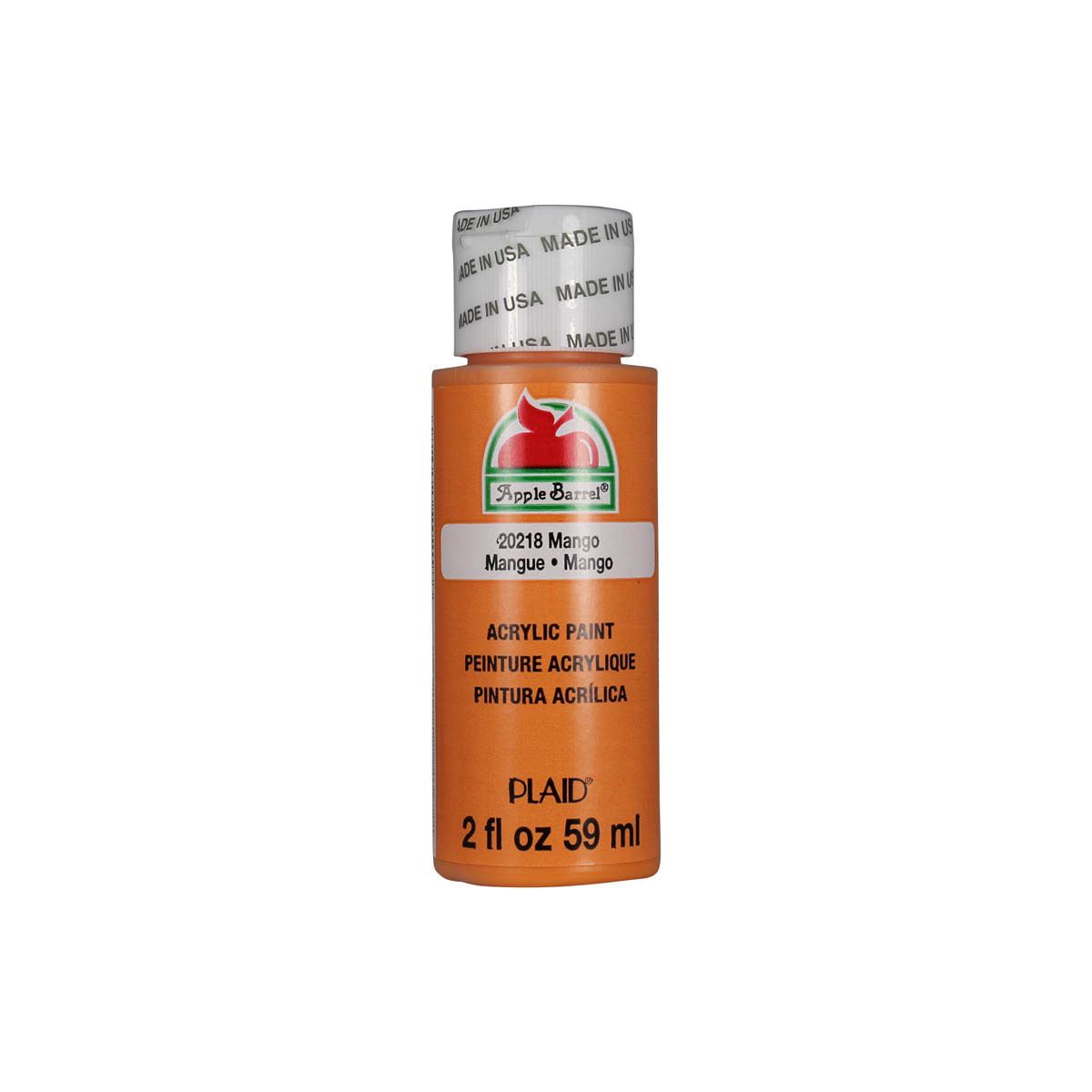 Apple Barrel ® Colors - Mango, 2 oz. - 20218
