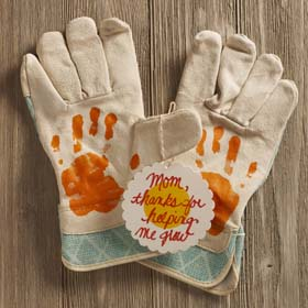 Personalized Mother's Day Gift from Kids - Garden Gloves