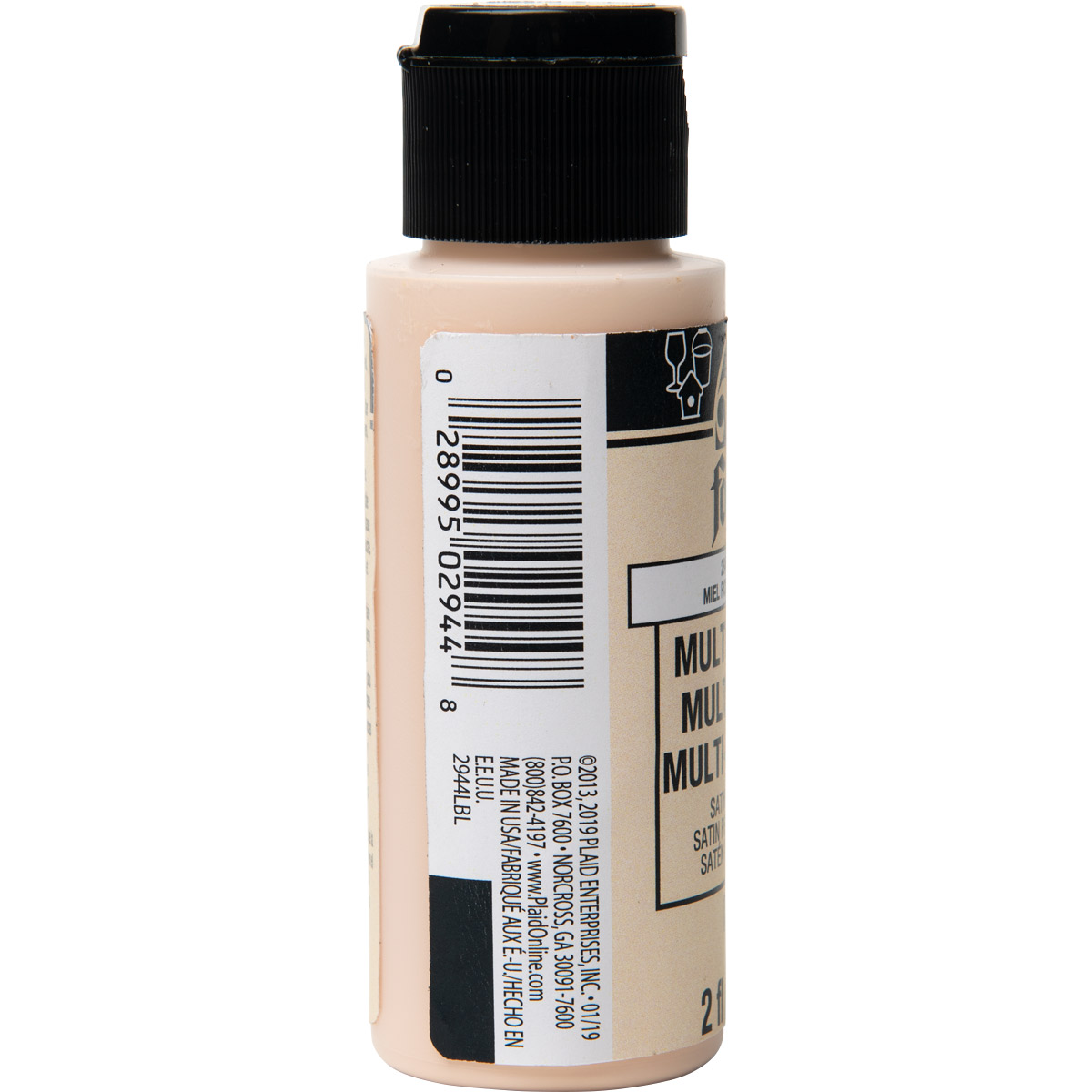 FolkArt ® Multi-Surface Satin Acrylic Paints - Cool Bisque, 2 oz. - 2944