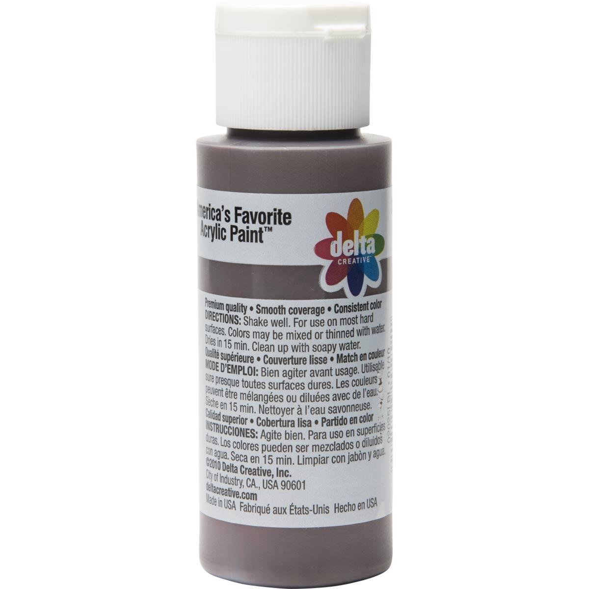 Delta Ceramcoat ® Acrylic Paint - Burnt Umber, 2 oz. - 020250202W
